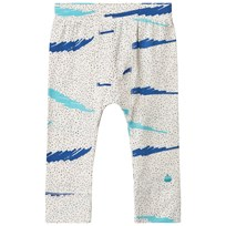 The Bonnie Mob PRINTED LEGGING BLUE SCRIBBLE WAVES PRINT BLUE SCRIBBLE WAVES PRINT