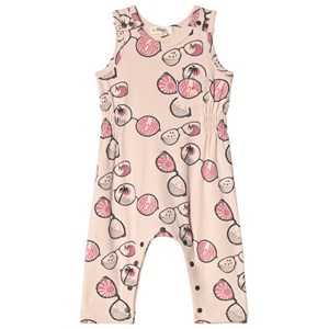 Image of The Bonnie Mob Printed Sleeveless Romper Pink Sunnies 4-5 år (2959878291)