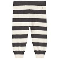 The Bonnie Mob Lightweight Knitted Trousers Monochrome Stripe Monochrome Stripe