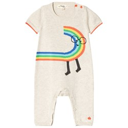The Bonnie Mob Rainbow Dude Baby bodysuit Rainbow