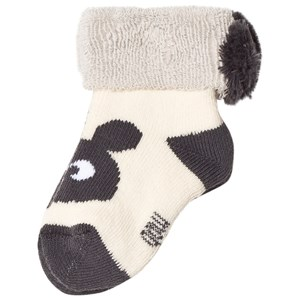 Image of The Bonnie Mob Bunny Head Baby Socks Cream 0-6 mdr (3065509861)