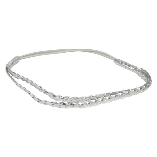 Molo Hairband Shimmering Silver Black