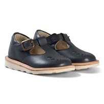 Young Soles Navy Leather Rosie Sandals NAVY LEATHER