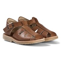 Young Soles Tan Leather Frankie Sandals Tan Leather