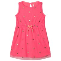 Billieblush Pink Sequin Spot Tulle Dress 49H
