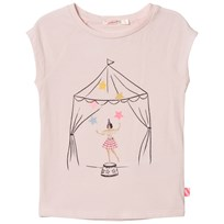 Billieblush Pale Pink Circus Girl Tee (with Bunting) 45W