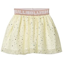 Billieblush Pale Yellow Branded Glitter Tutu Skirt 509