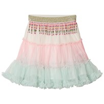 Billieblush Pink and Pale Green Ombre Tutu Skirt Z40