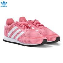 adidas Originals Pink Iniki Infants Trainers CHALK PINK S18/FTWR WHITE/FTWR WHITE