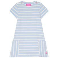Tom Joule Blue Stripe Pocket Dress SKY BLUE STRIPE