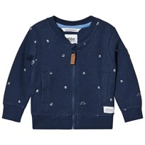 eBBe Kids Ryan sweat jkt Boats on blue Boats on blue