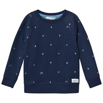 eBBe Kids Radford sweater Boats on blue Boats on blue