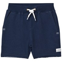 eBBe Kids Red sweat shorts Dark blue melange Dark blue melange