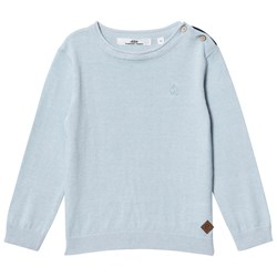 ebbe Kids Anton Knitted Sweater Ice Blue