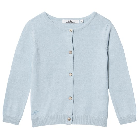 ebbe Kids Adele Knitted Cardigan Ice Blue Pink