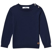 eBBe Kids Anton knitted sweater Midnight navy Midnight Navy