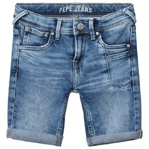 Image of Pepe Jeans Blue Pilot Slim Fit Washed Stretch Denim Shorts 4 years (2959874505)