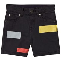 Stella McCartney Kids Black Multi Motif Blake Shorts 1073