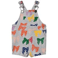 Stella McCartney Kids Gery Bow Print Pookie Sweat Dungarees 1764