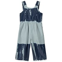 Stella McCartney Kids Blue Tie Die Leah Overalls 4161