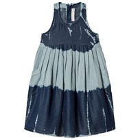 Stella McCartney Kids Blue Tie Die Poco Dress 4161