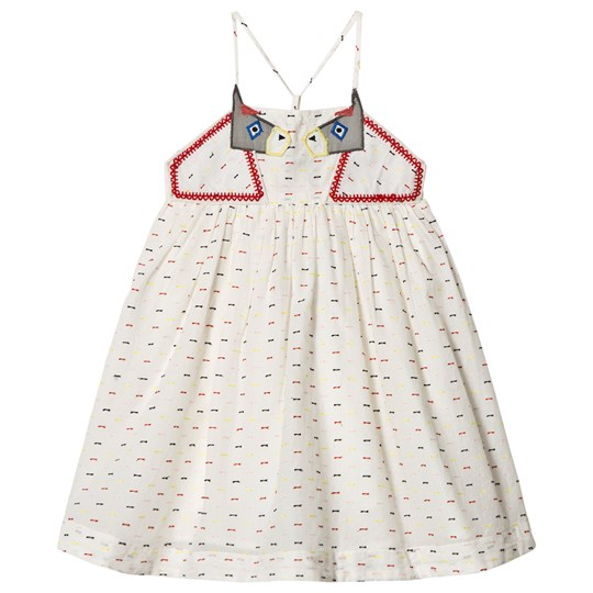 Stella McCartney Kids Pear Donkey Patches Dress 9232