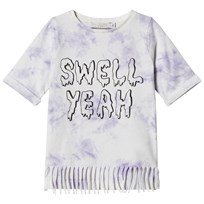 Stella McCartney Kids Purple Tye Dye Swell Yeah! Hepsie Tee Dress 4161