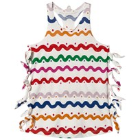 Stella McCartney Kids Multi Squiggle Claudia Dress 9577