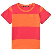 Acne Studios Mini Tee Nedy Neon Pink / Geranium Orange Neon Pink / Geranium Orange