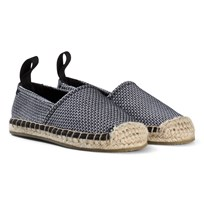 AKID Pale Pink Mesh Knit Espadrilles NUDE/CREAM
