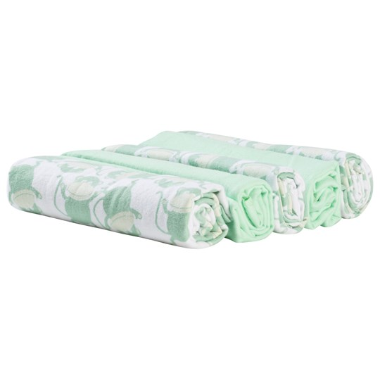 Borås Cotton Monkey 5-Pack Flannels Green Green