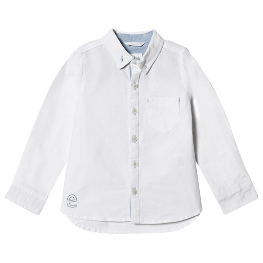ebbe Kids Alf Shirt in Oxford Off White Oxford offwhite