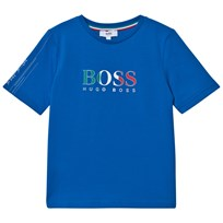 BOSS Blue Italy Branded World Cup Tee Z59