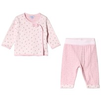 Absorba Pink Floral and Stripe Set 30