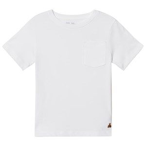 Image of GAP Short Sleeve Pocket Tee White 3 år (2962706845)