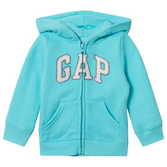 GAP Logo Zip Hoodie Swimming Blue Swimming Blue