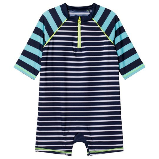 GAP Stripe Rashguard Blue Blue Stripe