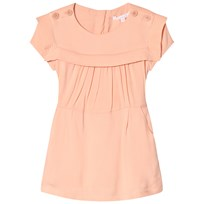 Chloé Light Pink Twill Sailor Collar Dress 45N