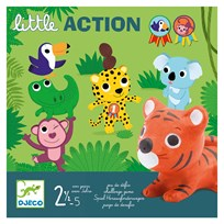 Djeco Little Action Game Green