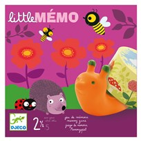 Djeco Little Memo Game Purple