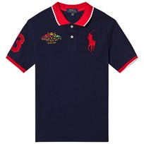 Ralph Lauren Navy Big Pony and Crest Pique Polo 005