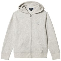 Ralph Lauren Grey Double Knit Hoody with PP 001