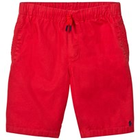 Ralph Lauren Red Shorts Elasticated Waist 004