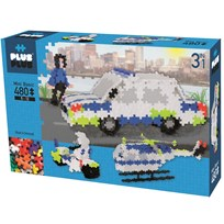 Plus Plus Plus Plus MINI Basic Police 3-in-1 480 pcs Blue