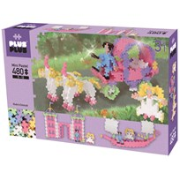 Plus Plus Plus Plus MINI Pastel Princess 3-in-1 480 pcs Purple