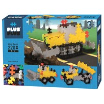 Plus Plus Plus Plus MINI Basic Roadwork 3-in-1 220 pcs Blue