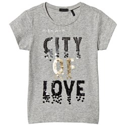 IKKS Grey City of Love Sequin Tee