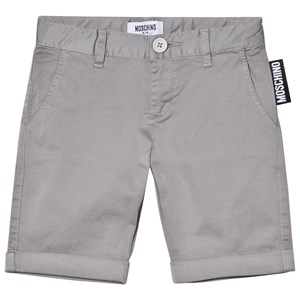 Image of Moschino Kid-Teen Grey Branded Label Shorts 5 years (2963555273)