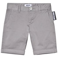 Moschino Kid-Teen Branded Label Shorts Grå 60044