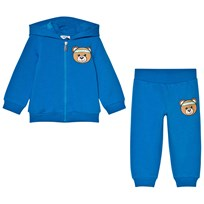 Moschino Kid-Teen Blue Bear Branded Tracksuit 40203
